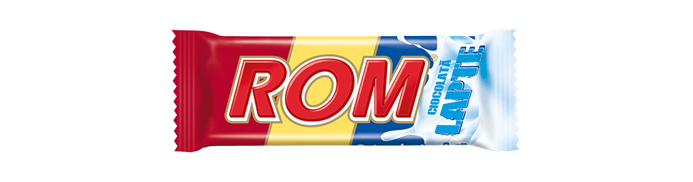 Autentic Rom Lapte, baton de ciocolata cu lapte si crema rom, 30g