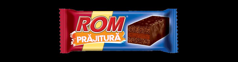 Autentic Rom Prajitura, crema rom, 35g