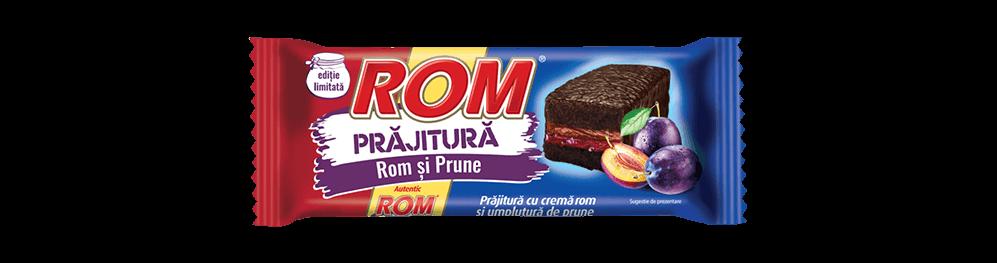 Autentic Rom Prajitura, crema rom si prune, 35g