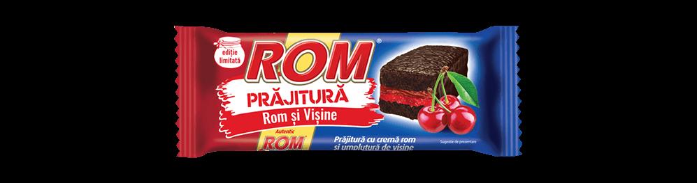 Autentic Rom Prajitura, crema rom si visine, 35g